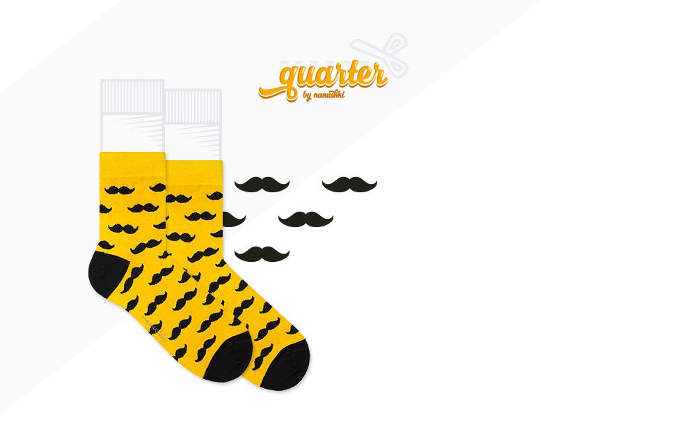 Zakostki Mr. Yellow Mustache