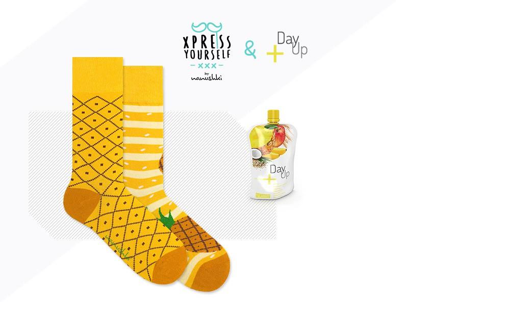 Skarpetki w ananasy