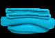 Stopki Turkusowy Błękit