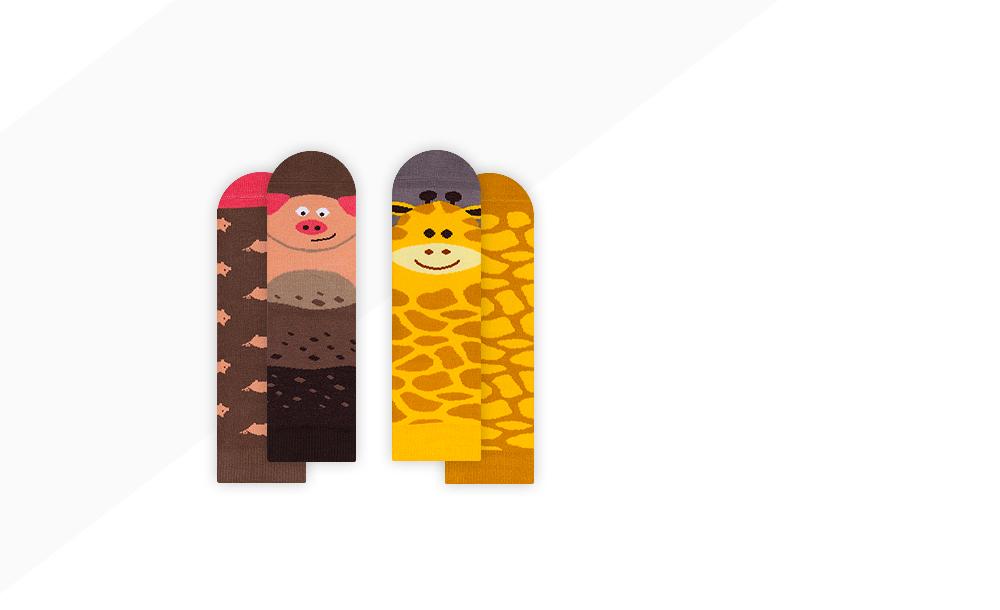 Piggy + Gigi Giraffe
