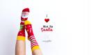 Święty Mikołaj skarpetki
