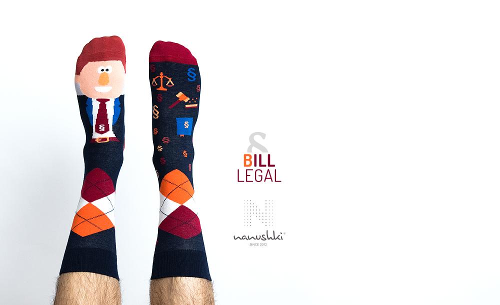 Skarpetki prawnik