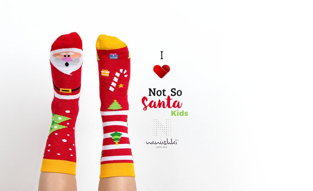 Skarpetki Święty Mikołaj