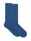 Niebieskie skarpetki merceryzowane