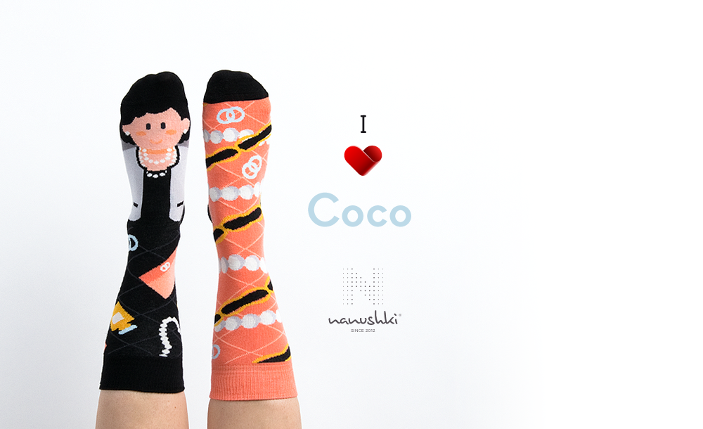 Coco Chanel socks