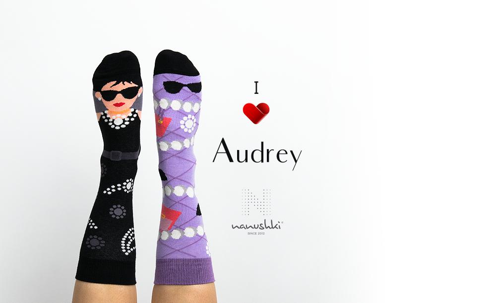 Skarpetki Audrey Hepburn