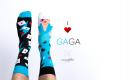 Kolorowe skarpetki Gaga