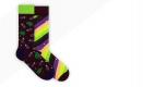Eggplant Socks