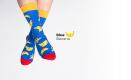 Blue Banana Socks