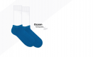 niebieskie stopki