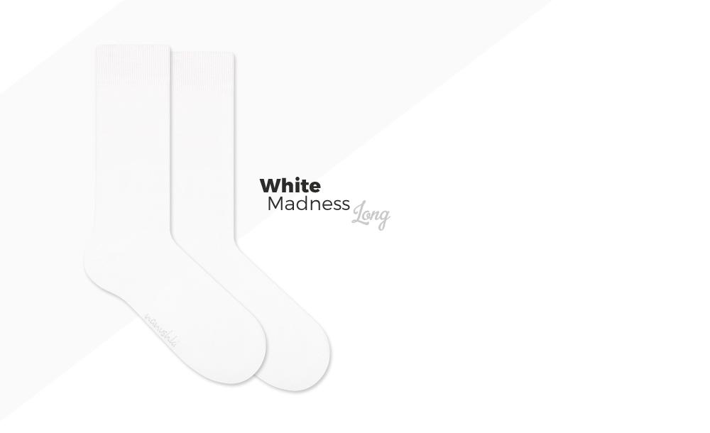 białe skarpety