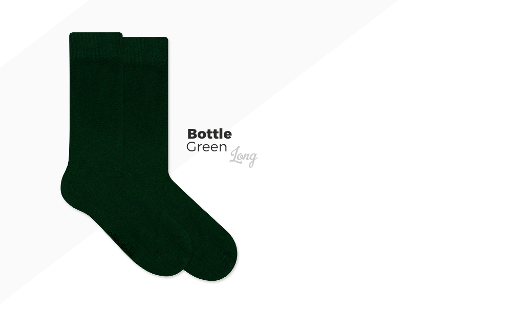 zielone skarpety