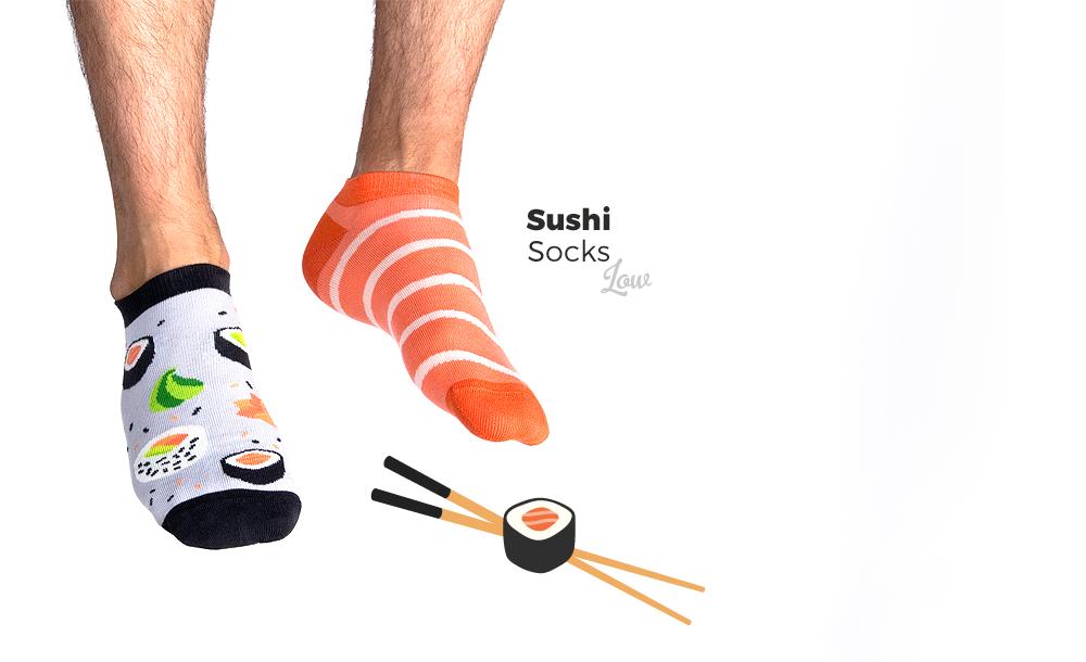 Skarpetki na lato Sushi