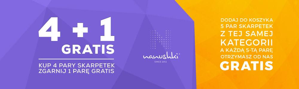 Promocja Nanushki 4+1 Gratis