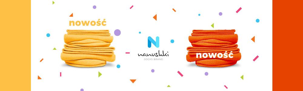 kolorowe skarpetki Nanushki